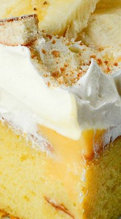 Banana Pudding Lush Cake