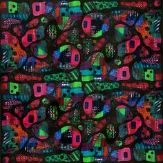 Pattern: Chaos Theory 5 Copyright 2015  Sharon Landon  Connect with me on IG at sharon.landon