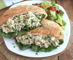 Chicken Caesar Sandwiches http://www.draxe.com #health #holistic #natural