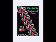 Mysticania loom band Bracelet (Hook Only) Tutorial - YouTube