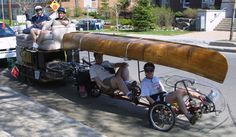 Moving By Bike Trailer