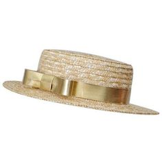 Anne-Sophie Coulot Hélo Straw Hat