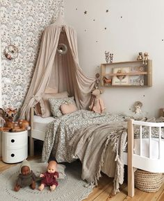 Not Your Usual Top 10 Kids' Room Trends for 2020 Discover kids' room trends for 2019 to get a bigger picture of the kid's room styling industry today and be inspired by the best of kids' interiors today. Girls Bedroom, Bedroom Decor, Ikea Bedroom, Bedroom Furniture, Kids Room Design, Room Kids, Little Girl Rooms, My New Room, Home Deco