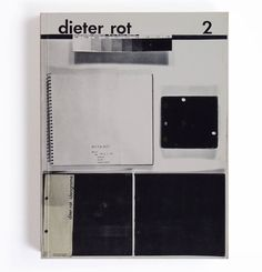 Dieter Roth explored, in a self-reflexive way, the nature of books.
