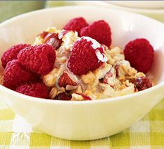 Make your own muesli and boost it with fresh fruit for a wholly satisfying and healthy breakfast to keep you going through the day