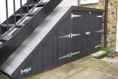 stair storage outside - Google Search & Need outdoor storage? Design your deck or porch to do u0027double duty ...