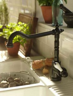 GLITTRAN Kitchen Faucet, Black Part 28