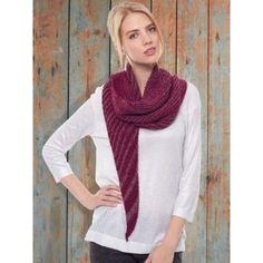 Free Beginner Women's Shawl Knit Pattern