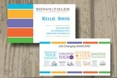 Rodan fields business cards printed or digital upload one sided rodan fields business cards printed or digital upload one sided business card cards and stationary pinterest card printing business cards and colourmoves