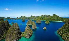 Landscape of Wayag, Raja Ampat, West Papua, James Morgan