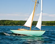Fractional Sloop - My Favorite Rig and Why by Doug Hylan Utility Boat, Norfolk Broads, Classic Sailing, Cabin Cruiser, Float Your Boat, Super Yachts, Small Boats, Submarines, Boat Plans