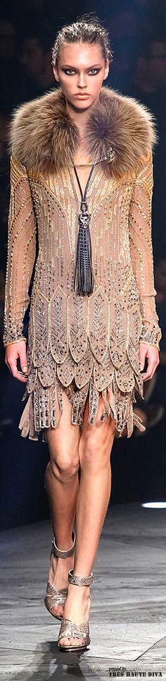 Roberto Cavalli Fall/Winter 2014 Milan Fashion Week   The House of Beccaria#