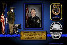 In Memoriam – Officer Jason Ellis K9 Officer, Fallen Officer, Police Wife Life, Police Family, Kentucky State Police, Jason Ellis, Pride Of America, Fallen Heroes, Thin Blue Lines