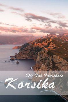 Korsika ist ein wahres Eldorado für Outdoor-Fanatiker, Naturliebhaber und Fotografen. Die französische Mittelmeerinsel bietet unglaublich viel von schönen Stränden bis hin zu beeindruckenden Bergtouren. Auch Camper sind auf Korsika gerne gesehen. #korsika #sehenswürdigkeit #reisen #tipps #reisetipp #frankreich Travel Around The World, Around The Worlds, Koh Lanta Thailand, Attraction, Reisen In Europa, Places In Europe, Gap Year, Corsica, Future Travel