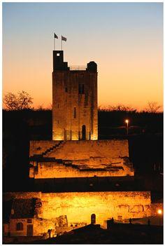 Lights for a tower - Saint-Emilion, France