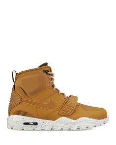 Nike Air Trainer Sc 2 Boots  | Leather/rubber | Imported | Treated leather upper protects you from the elements | Reflective panels to enhance low-light visibility | Forefoot strap provides lockdown |