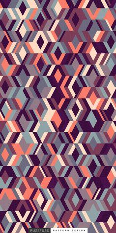 'Archive' Seamless Pattern by Russfuss #patterndesign #surfacepattern #fabricdesign #textiledesign #patternprint #geometry #iphonewallpaper #generative #padrões #cadernos #geometria #diseño