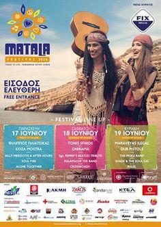 Λίγες μέρες απομένουν για το μουσικό γεγονός του Ιουνίου! Το Matala Beach Festival επιστρέφει την Παρασκευή 17 Ιουνίου, με χορηγό τη Minoan Lines. Είστε έτοιμοι για ένα αξέχαστο τριήμερο; http://www.matalabeachfestival.org/  We are proud to be a sponsor for Matala Beach Festival, the 3-day music event which will take place in one of Greece's most iconic beaches! Are you planning to be there?