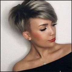 384 best Nice hair cut images on Pinterest   Short cuts, Hair cut ...   Einfache Frisuren