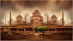 Queens Palace by Baahubali.deviantart.com on @DeviantArt