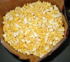 Healthy Homemade Popcorn!   Our healthy homemade popcorn tastes amazingly just like the theater — but without any of the guilt! Not a highly-processed or trans-fat vegetable oil to be found.   TraditionalCookingSchool.com