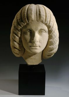 Roman marble portrait of a Severan woman, early 3rd century AD