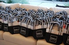 Gift bags included product samples, Kit Kat Senses chocolate bars, and coupons for salon services.