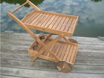 Who needs a maid when you've got the Royal Teak Serving Cart with Removable Tray ? Hosting a party on the patio has never been easier, thanks to. Outdoor Furniture Chairs, Childrens Rocking Chairs, Wooden Wheel, Patio Accessories, Serving Cart, Office Chair Without Wheels, Tea Tray, Garden Chairs, Diy Chair
