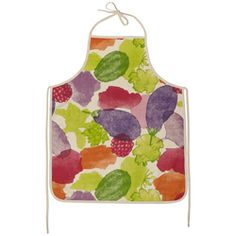 MOZI watercolour apron
