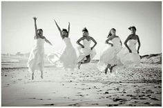 Beach wedding pictures