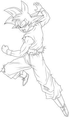Super Saiyan God Goku Lineart by BrusselTheSaiyan on DeviantArt Foto Do Goku, Rosario Vampire Anime, Goku Manga, Gas Mask Art, Goku Wallpaper, Anime Sketch, Neon Genesis Evangelion, Sword Art Online, Manga Girl