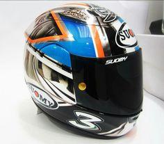 Biaggi helmet test Vallelunga 2015