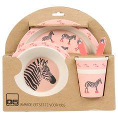 Kinderservies roze (4-delig)   LOODS 5