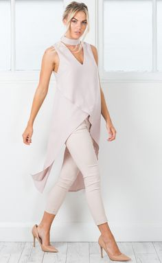 Showpo Devils Advocate top in nude - 6 (XS) Work Tops Next Fashion, Fall Fashion Outfits, Stylish Outfits, Cool Outfits, Womens Fashion, Plus Sise, Indian Fashion Trends, Moda Casual, Fashion Design Sketches