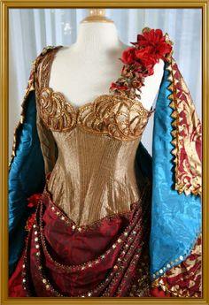Carlotta's Hannibal dress from the Phantom of the Opera movie. I WANT this for my senior recital!!!!