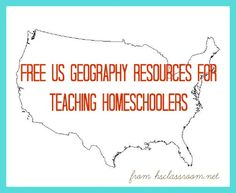 Free Resources for Teaching US Geography to Elementary Students