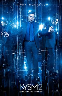 New trailers and 13 posters for NOW YOU SEE ME 2 starring Jesse Eisenberg, Woody Harrelson, Dave Franco, Lizzy Caplan, Mark Ruffalo and Daniel Radcliffe. Mark Ruffalo, All Movies, 2 Movie, Movies And Tv Shows, Awesome Movies, Imdb Movies, Movies Free, Insaisissable Film, Film Serie