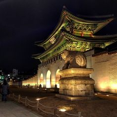 Eye For Beauty, Korean Traditional, Seoul Korea, Photos Tumblr, Scenery, Asia, Castle, France, Culture