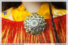 Silver Jewelry; Sami-Museum, Karasjok, Norway by dietz_helmut, via Flickr