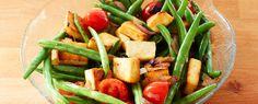 Tofu-Nudeln mit Bohnen | Vegetarische Gerichte zum Abnehmen von Almased