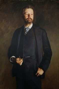 John Singer Sargent 1890 Henry Cabot Lodge oil on canvas National Portrait Gallery, Washington D.C.