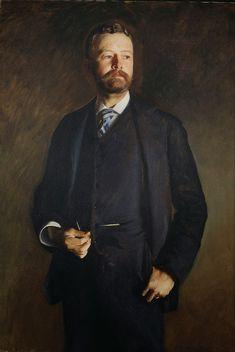 John Singer Sargent 1890 Henry Cabot Lodge oil on canvas National Portrait Gallery, Washington D.C.
