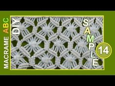 From this pattern you can make a scarf, clothing decoration or something other that you like. Macrame design elements for various useful macrame projects. Macrame Owl, Macrame Knots, Micro Macrame, Macrame Wall Hanging Patterns, Macrame Patterns, Nudo Simple, How To Make Scarf, Boho Room, Macrame Design