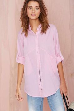 Melanie Top - Pink - Clothes