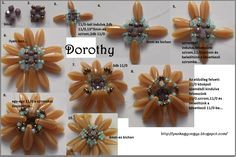 dagger bead flowers - Google Search