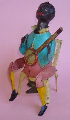 "1910 Günthermann ""Black man with Banjo"""