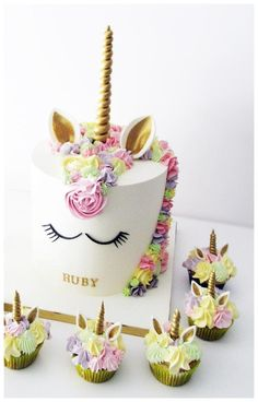 Unicorn Cake - Cake by Sylwia Jozwiak