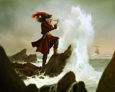 Captain James Hook. Peter Pan/The Boy Who Wouldn't Grow Up.