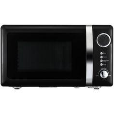 Wilko Colour Play Microwave Black