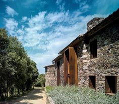 Catalan farmhouse in Girona, Spain.